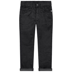 Pantalon en velours coupe slim
