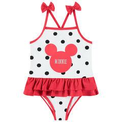 Maillot de bain 1 pièce Minnie Disney , Pomme Framboise