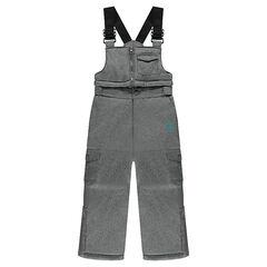 Pantalón tipo peto de esquí impermeable