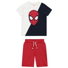 Ensemble à motif Spider-man en coton bio pour enfant garçon , Orchestra