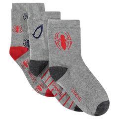 Juego de 3 pares de calcetines ©Marvel con motivo de Spiderman