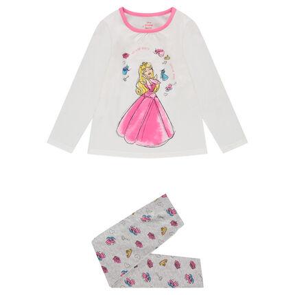Pijama de punto ©Disney  con estampado de la Bella Durmienta