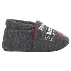 Zapatillas bajas con estampado de oso enmascarado