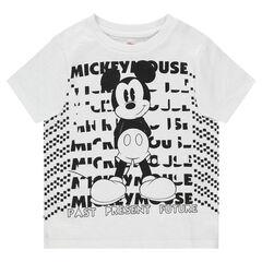 Camiseta de punto de manga corta ©Disney con estampado de Mickey
