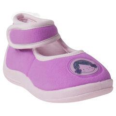 Zapatillas zapatos merceditas con velcro con detalle