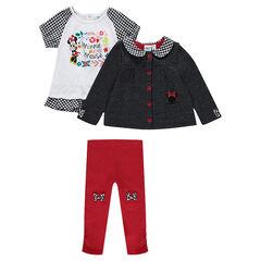 Conjunto de túnica y leggings Disney Minnie