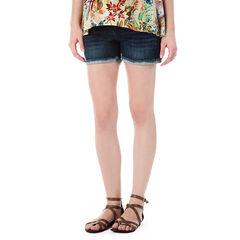 Short en jeans de grossesse