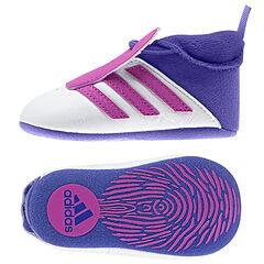 Zapatillas de deporte con sujeción mediante elástico Addidas bandas rosa
