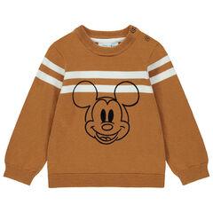 Pull en tricot à bandes et motif Mickey Disney , Orchestra