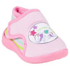 Zapatillas de forma botín de color rosa con detalle Disney