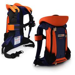 Porte-bébé Saddly Baby Pack - Orange/Bleu