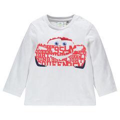 Camiseta manga larga de tejido de punto Disney con estampado Cars