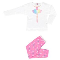 Pijama con estampado
