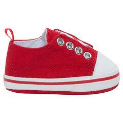 Zapatillas bajas, elásticas y de tela