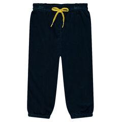 Pantalón de pana de terciopelo