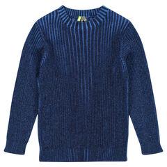 Jersey de punto elástico bicolor