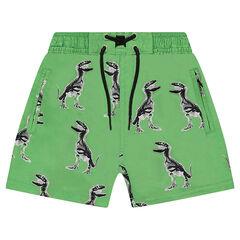 Pantalón de baño con dinosaurios all over