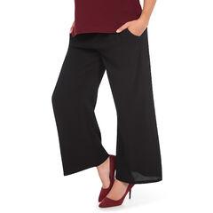 Pantalón para el embarazo corte ancho sueltos