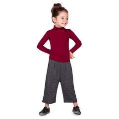 Pantalón tres cuartos largos lados cintura elástica