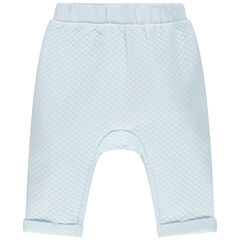 Pantalon en molleton à croisillons