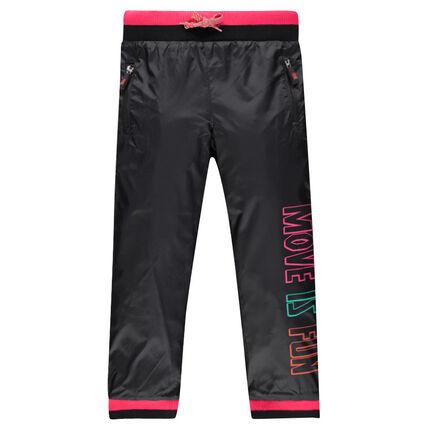 Pantalón de chándal con estampado multicolor