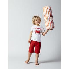 Pyjama en coton bio à message printé , Orchestra
