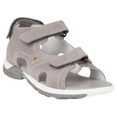 Zapatos descubiertos con correas de cuero