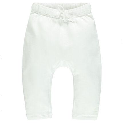 Pantalón de muletón uniforme