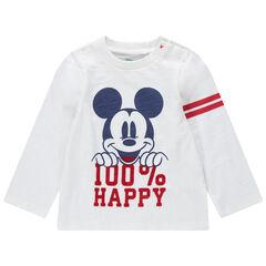 Camiseta de manga larga de punto con estampado de Mickey Disney