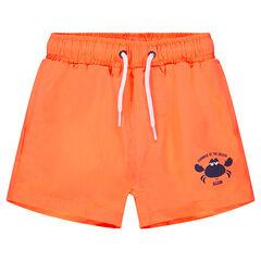 Pantalón de baño naranja