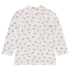 Camiseta interior con estampados de fantasía all over
