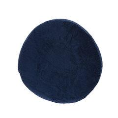 Housse ronde de coussin d'allaitement - Bleu marine