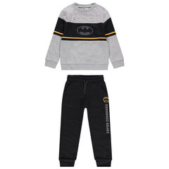 Jogging en molleton motif Batman