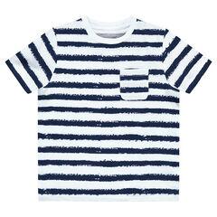 Camiseta marinera de manga corta