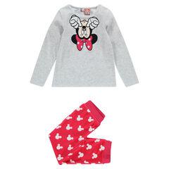 Pijama largo de terciopelo Disney Minnie
