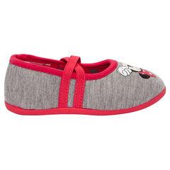 Zapatillas para bebé con elásticos y estampado de Minnie de Disney