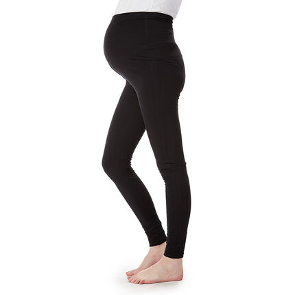 Legging noir taille haute grossesse