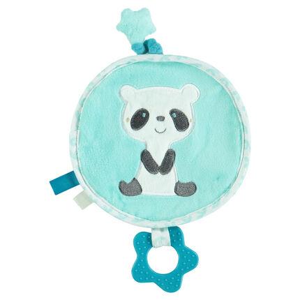 De terciopelo bordado de panda