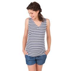 Camiseta de premamá y lactancia