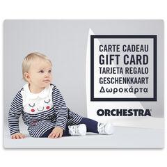 La tarjeta de regalo electrónica Orchestra bebeFille