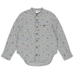 Camisa de manga larga con estrellas Mickey Disney