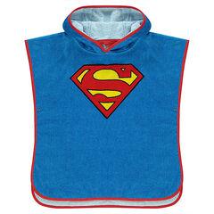 Capa de baño con capucha DC Comics con logo de Superman