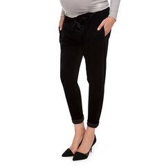 Pantalón de embarazo de terciopelo