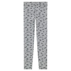 Leggings de punto con estampados all-over