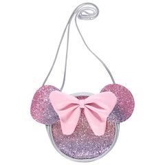 Bolso de bandolera Minnie Disney con purpurina