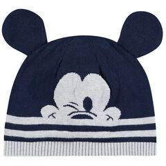 Gorro de punto con orejas cosidas de Mickey Disney