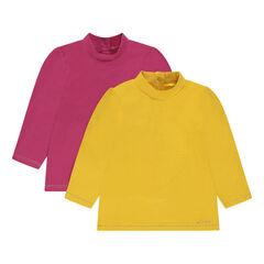 Pack de 2 camisetas lisas