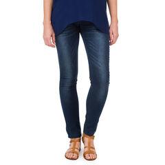 Jeans para el embarazo slim con tachuelas con fantasía