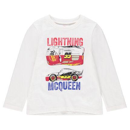 Camiseta de manga larga de punto liso con estampado de Cars Disney/Pixar®