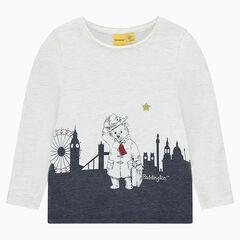 Camiseta de punto slub brillante con estampado ©Paddington